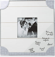 Shiplap Wedding Signature Photo Frame - Fruit of the Vine