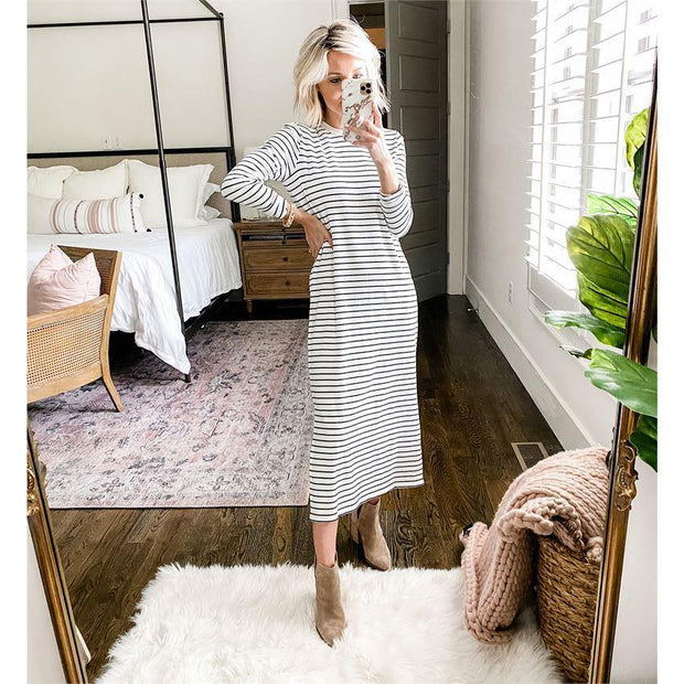 Owen Midi Dress | Mud Pie