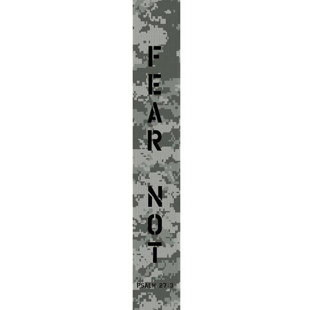 Fear Not Psalm 27:3 Guitar Strap - Fruit of the Vine