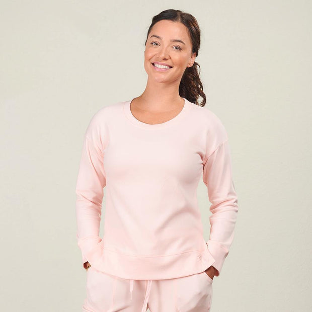 Pink Faceplant Bamboo® Frida Pullover