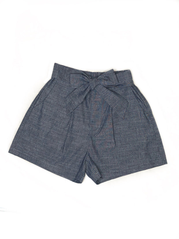 Gracie Paperbag Shorts - Fruit of the Vine