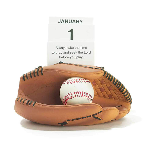 Always Pray Baseball Resin Calendar - Fruit of the Vine