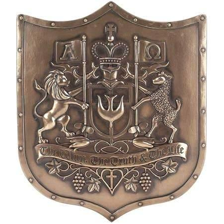 Christian Coat of Arms Wall Plaque | Fruit of the Vine Boutique
