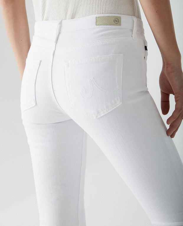 AG Jeans - The Prima Roll-Up in White