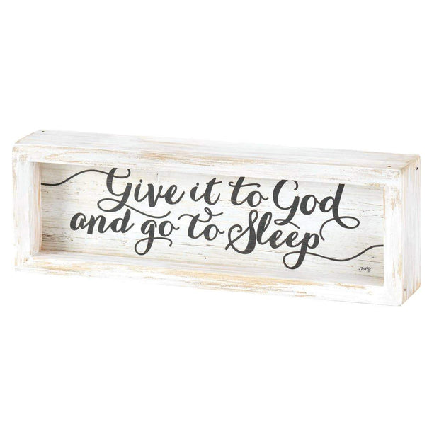 Tabletop Give It To God Plaque - Fruit of the Vine