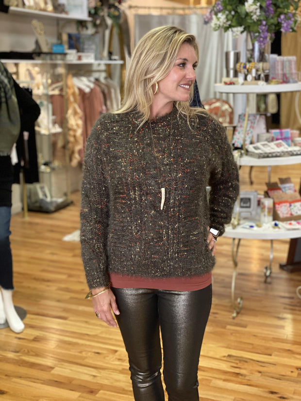 Cable Knit Sweater | Molly Bracken