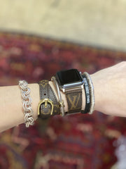 Repurposed LV Bracelets