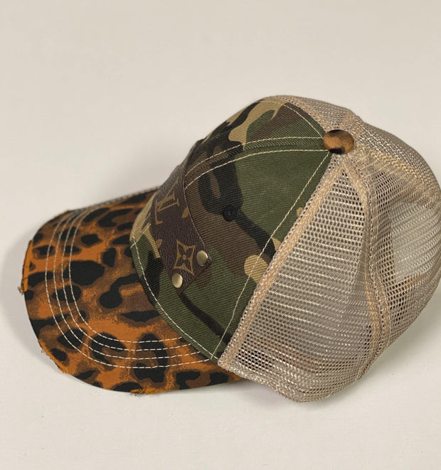 Repurposed LV Trucker Hats