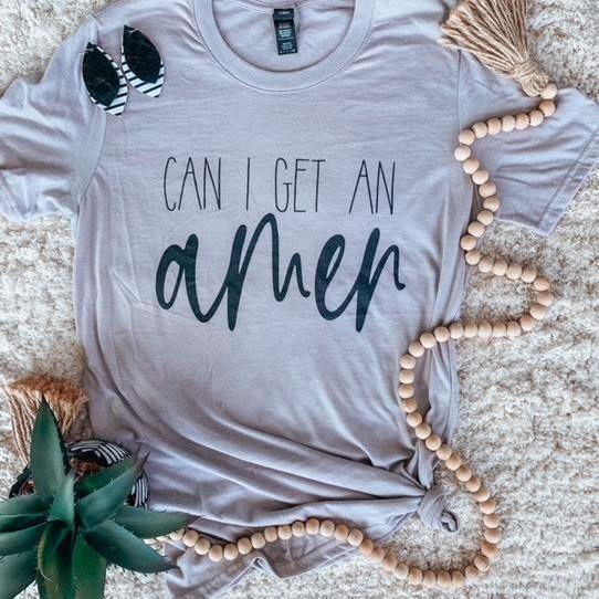 Amen Graphic Tee | Fruit of the Vine Boutique