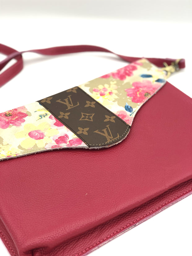 Louis Vuitton Sassy Lady Pink Envelope Purse - Fruit of the Vine
