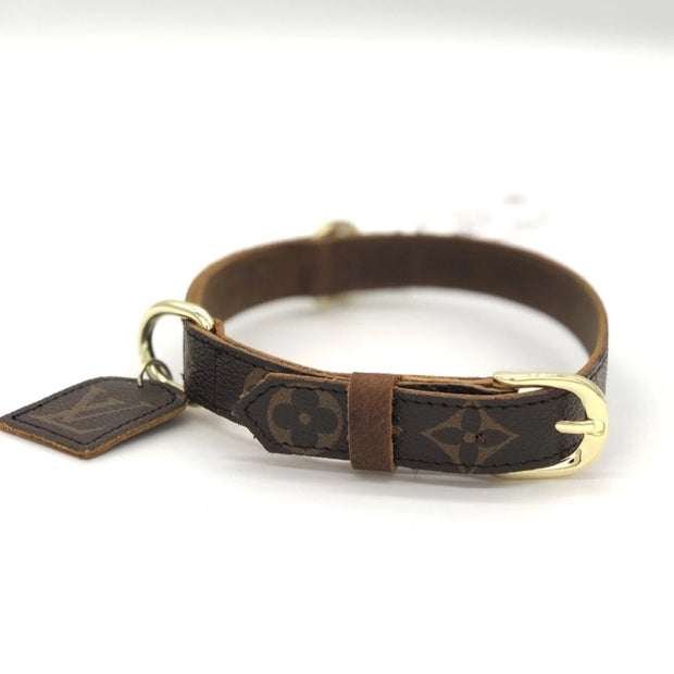 Louis Vuitton Dog Collar & Leash