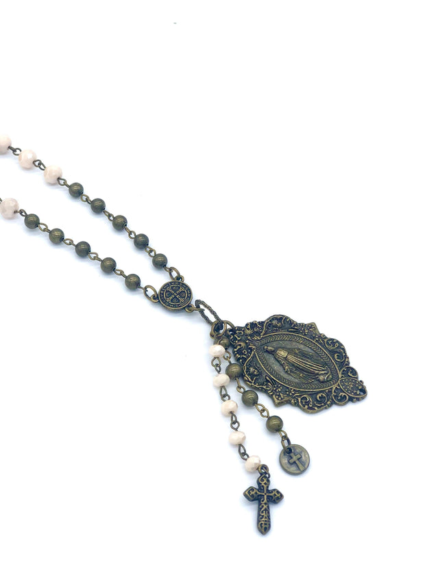 Handmade Saint Necklace | Fruit of the Vine Boutique