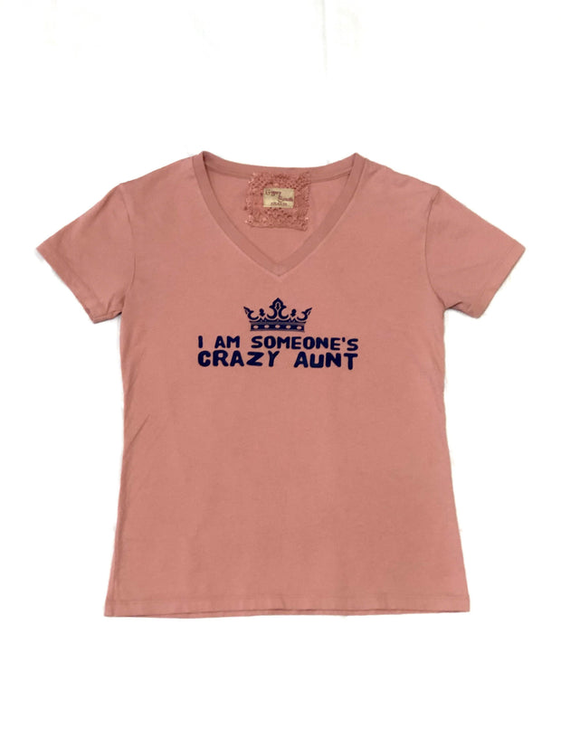 Gypsy South Mauve 'Crazy Aunt' Tee