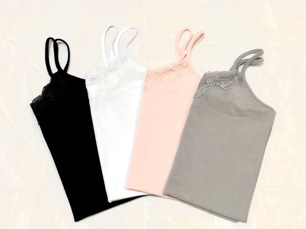 Basic Cami with Lace