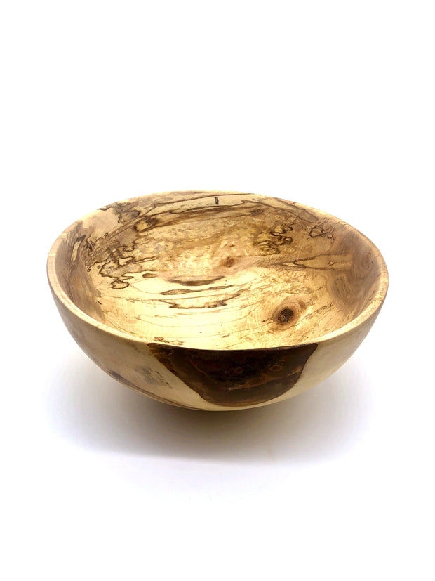 Medium Wooden Bowl Handcrafted by Keegan Watson - Fruit of the Vine