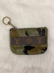 Repurposed LV Coin Pouches