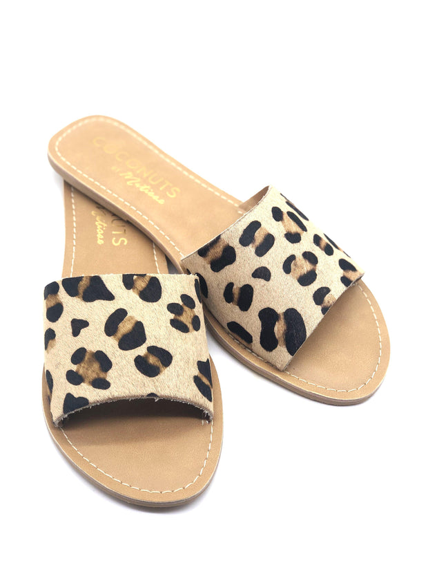 Coconuts by Matisse Cabana Sandals in Leopard