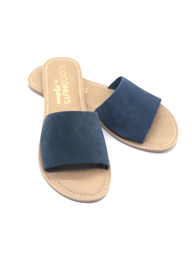 Coconuts by Matisse Cabana Sandals in Navy Suede