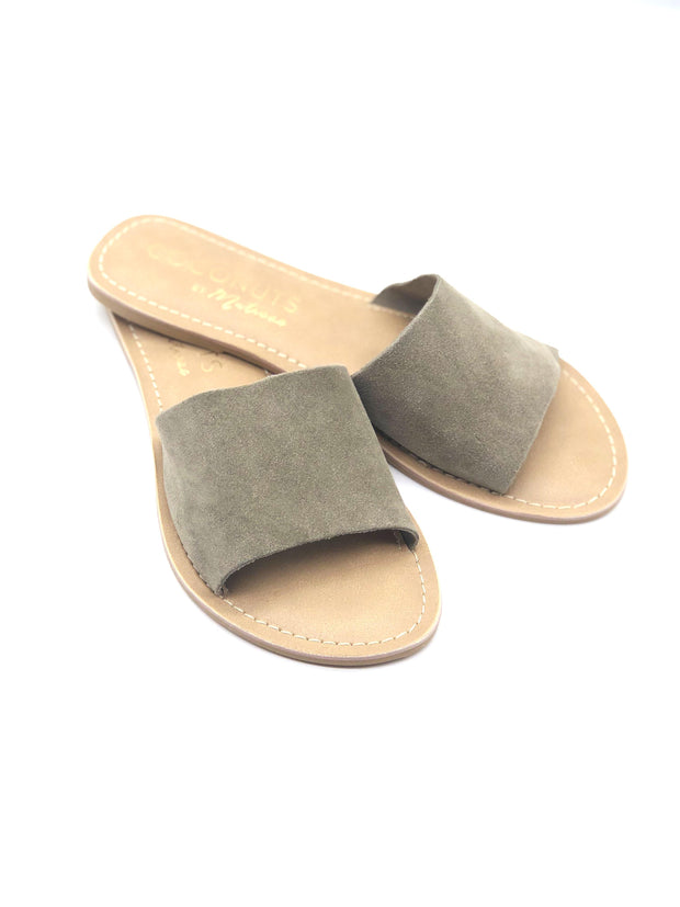 Coconuts by Matisse Cabana Sandals in Grey Suede