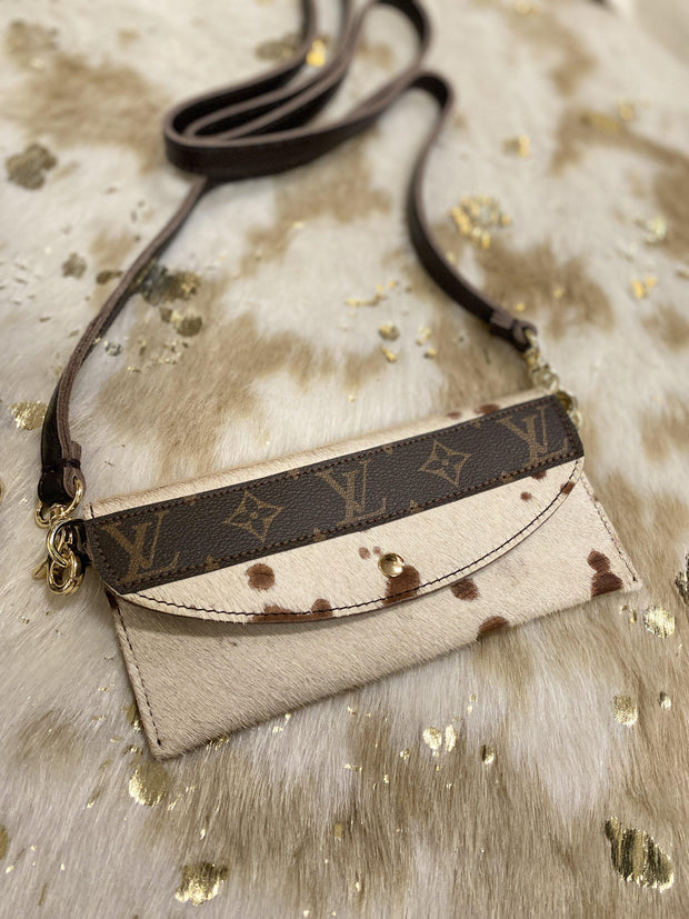 Repurposed LV Her Love Crossbody