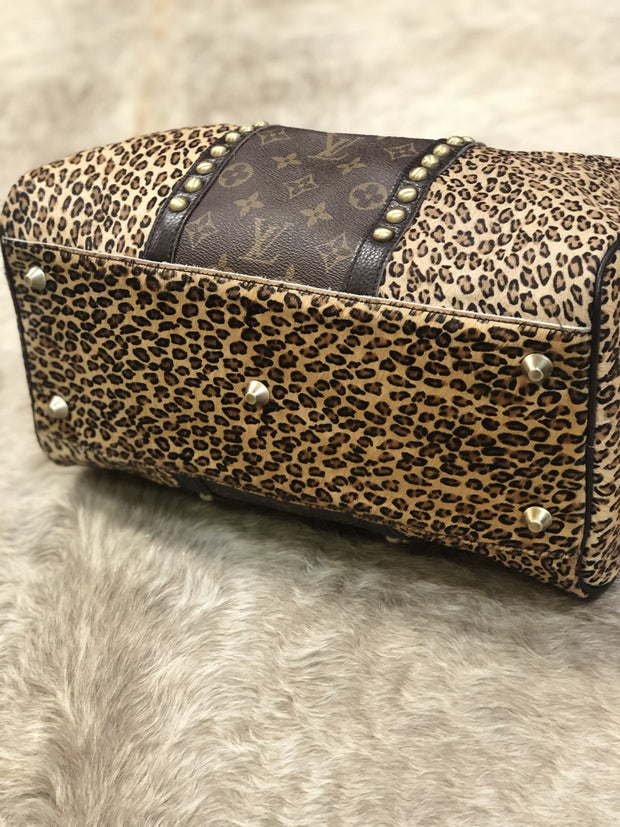 Light Leopard Louis Vuitton Speedy - Fruit of the Vine