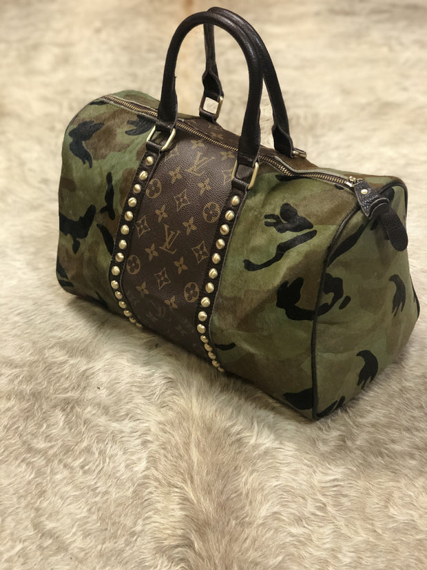 Camo Louis Vuitton Speedy - Fruit of the Vine
