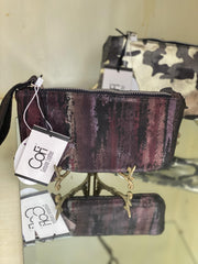 Ellie Wristlet in Paintbrush | CoFi Leathers | Fruit of the Vine Boutique