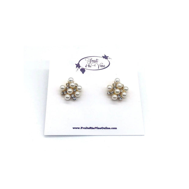 Pretty in Pearls Stud Earrings