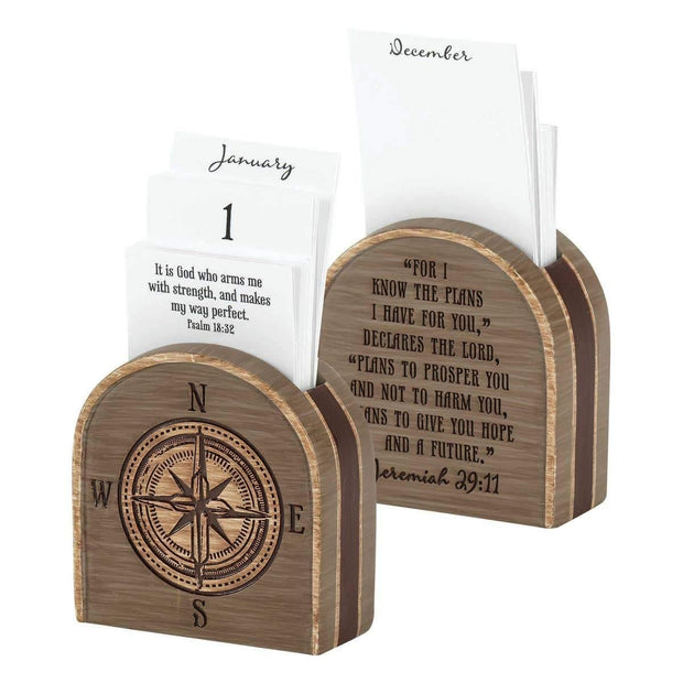 Jeremiah 29:11 Resin Calendar Holder