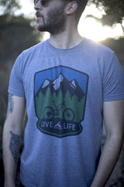Bike Life T-Shirt - Fruit of the Vine