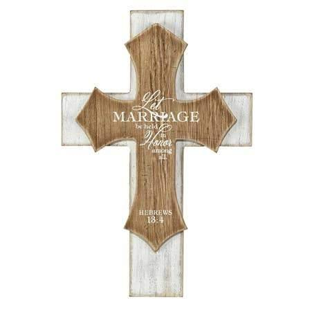 Let Marriage Be Held in Honor Wall Cross