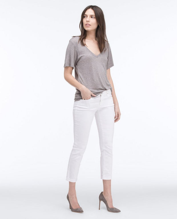 AG Jeans - The Stilt Roll-Up in White