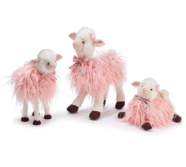 Pink Lamb Family - Fruit of the Vine