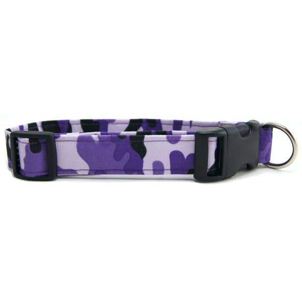 Purple Camo Dog Collar - Fruit of the Vine