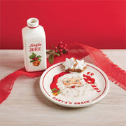 Vintage Santas Milk and Cookies Set | Mud Pie