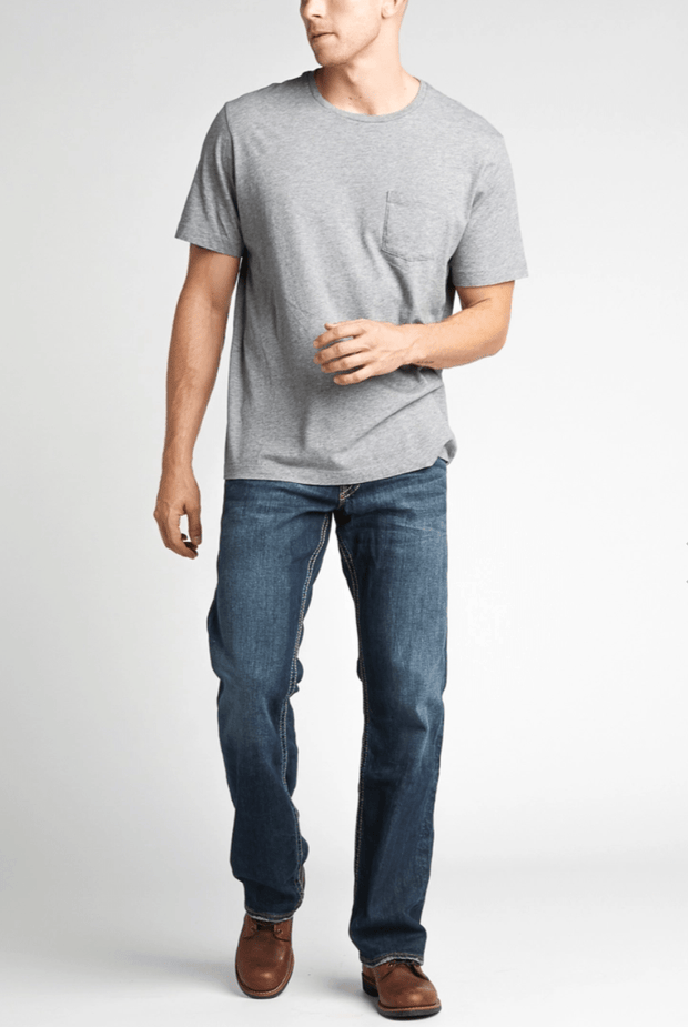 Zac Relaxed Fit Straight Leg Jeans - Fruit of the Vine