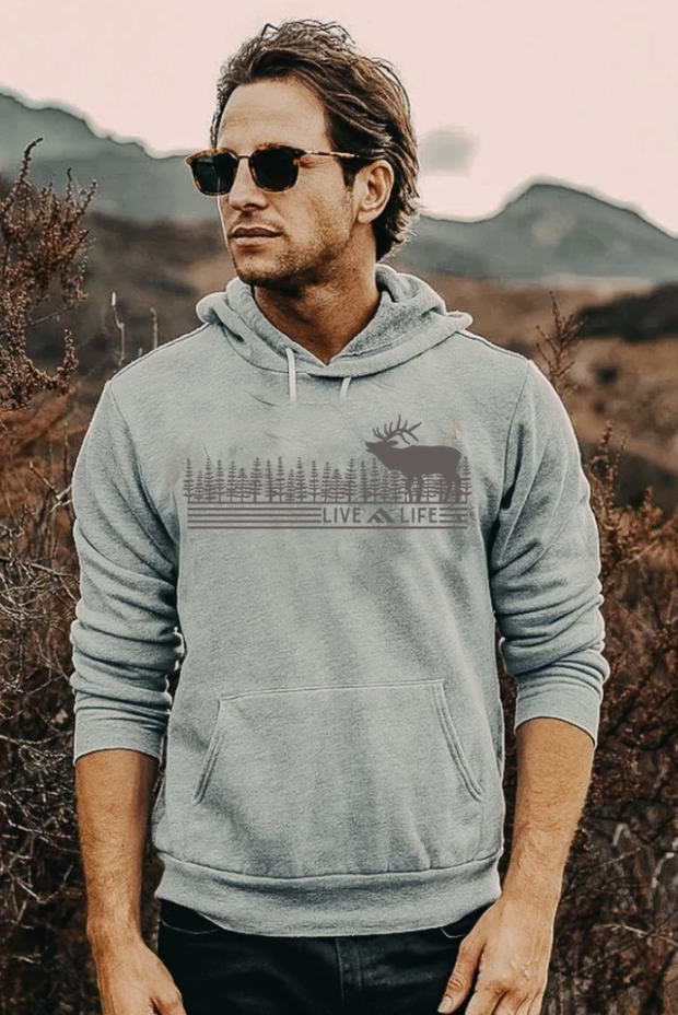 Wapiti Life Hoodie | Live Life Clothing Co | Fruit of the Vine Boutique