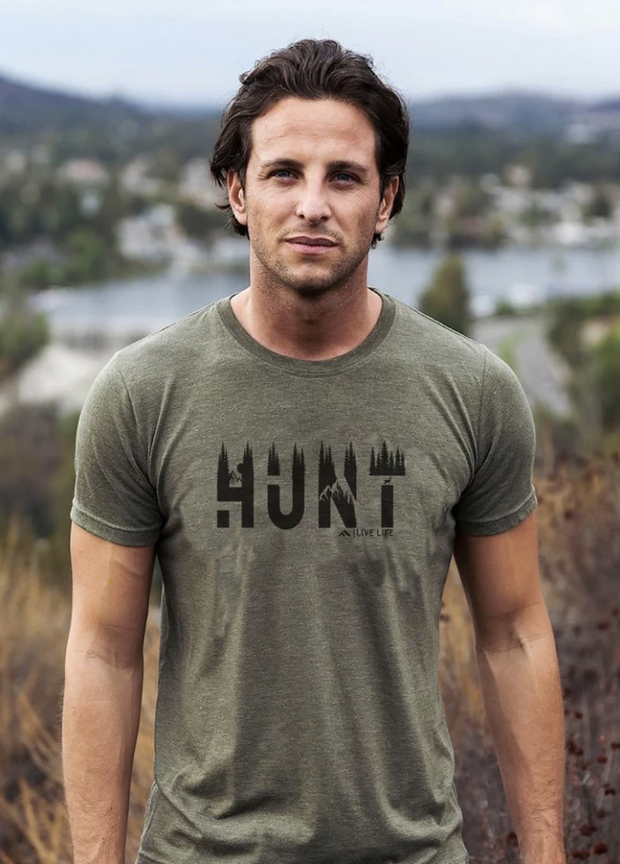 Green Hunt Life T-Shirt