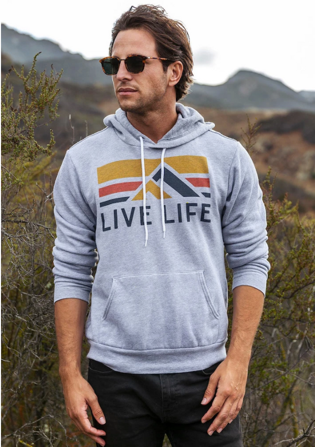 Retro Life Hoodie | Live Life Clothing Co. | Fruit of the Vine Boutique