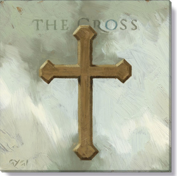 Cross Giclee Wall Art
