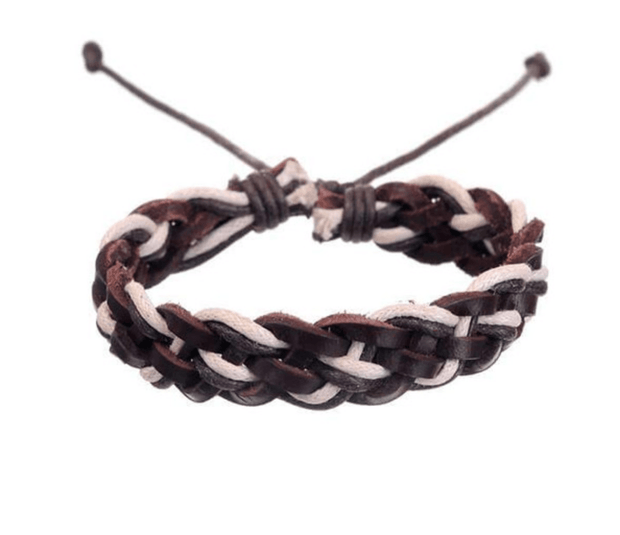Mad Man Leather Bracelet - Fruit of the Vine