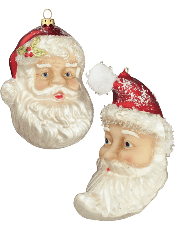 Santa Head Ornament - Fruit of the Vine