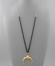 Horn and Wood Necklaces | Fruit of the Vine Boutique
