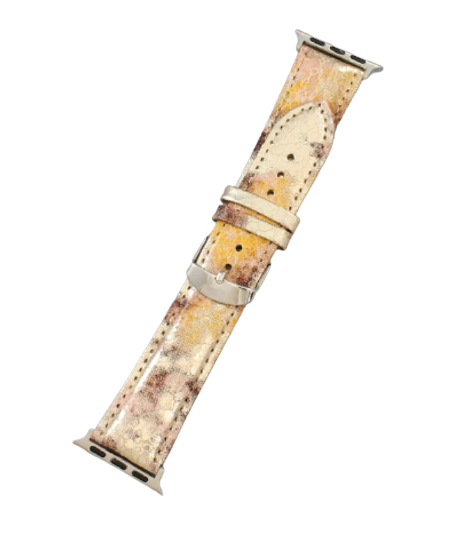 Metallic Snakeskin Smart Watch Bands