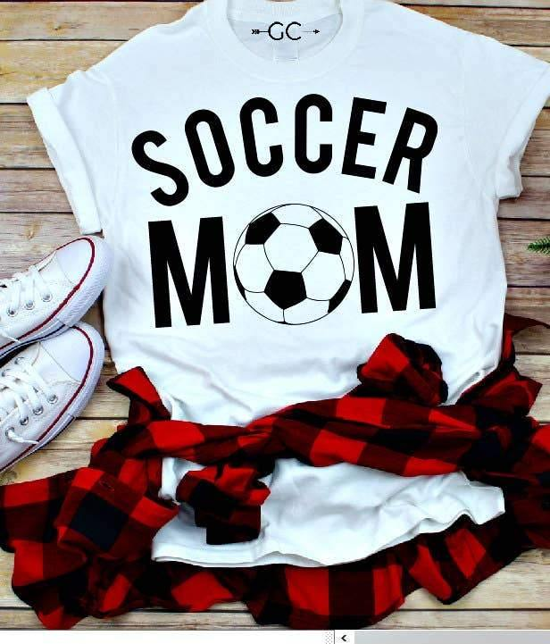 Soccer Mom Graphic Tee | Fruit of the Vine Boutique