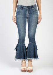 Articles of Society Suzy Step Hem Lucia Jeans - Fruit of the Vine