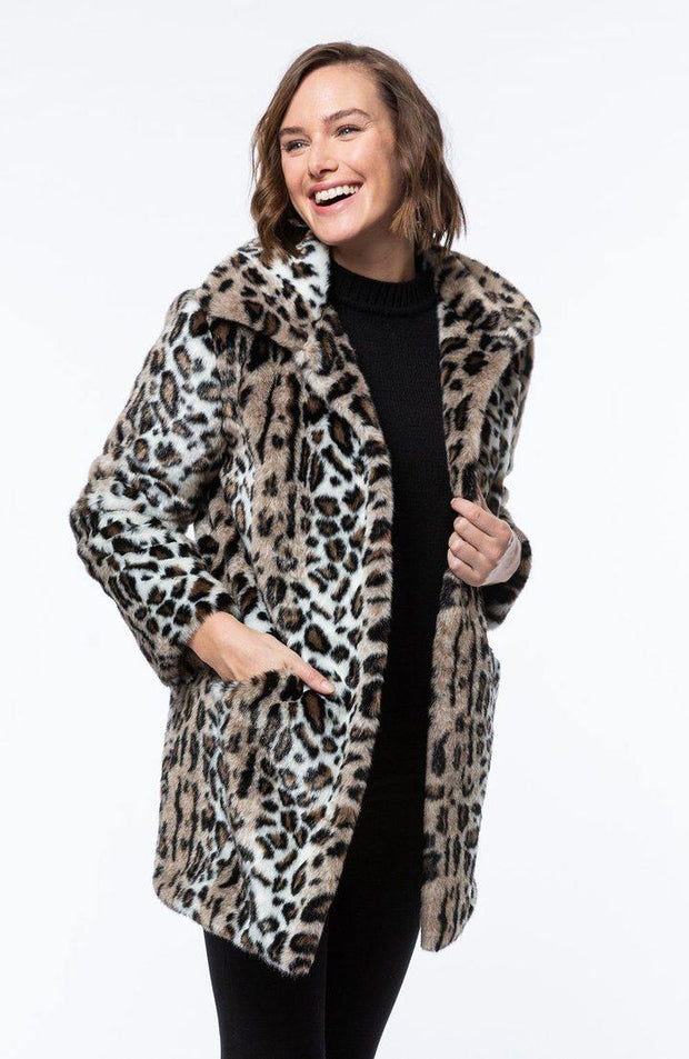 Faux Fur Animal Coat | Tyler Böe