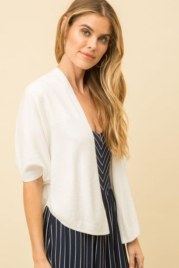 Mystree Ivory Cardigan - Fruit of the Vine