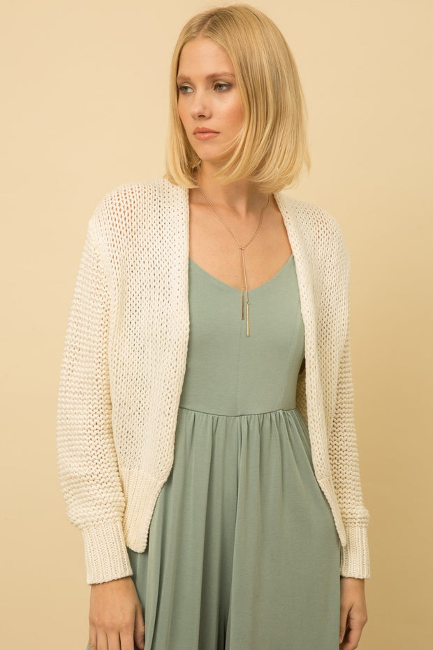Mystree Cream Cardigan - Fruit of the Vine