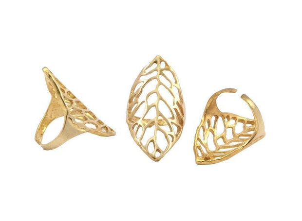 Gold Vein Ring - Fruit of the Vine